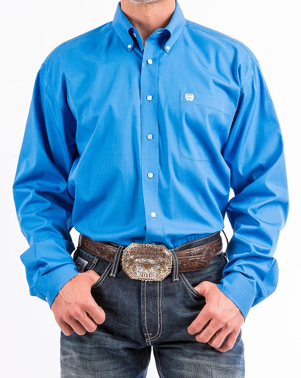 Cinch Shirt Man Blue