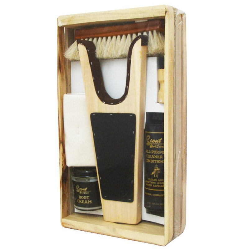 Boot and shoe care set