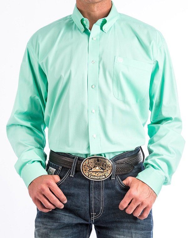 Cinch Shirt Man Green