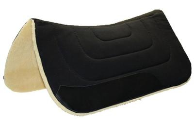 Western pad with fleece
