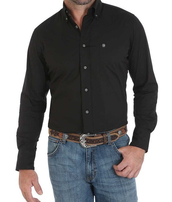 Cinch Shirt Man Black