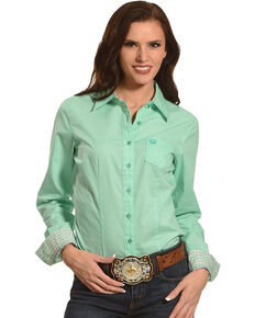 Cinch Shirt Lady Green