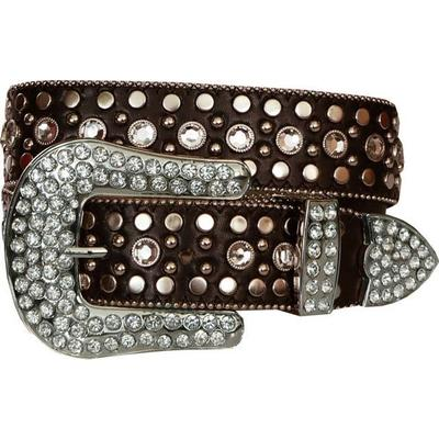 Cinturon Rhinestone Sindy Brown