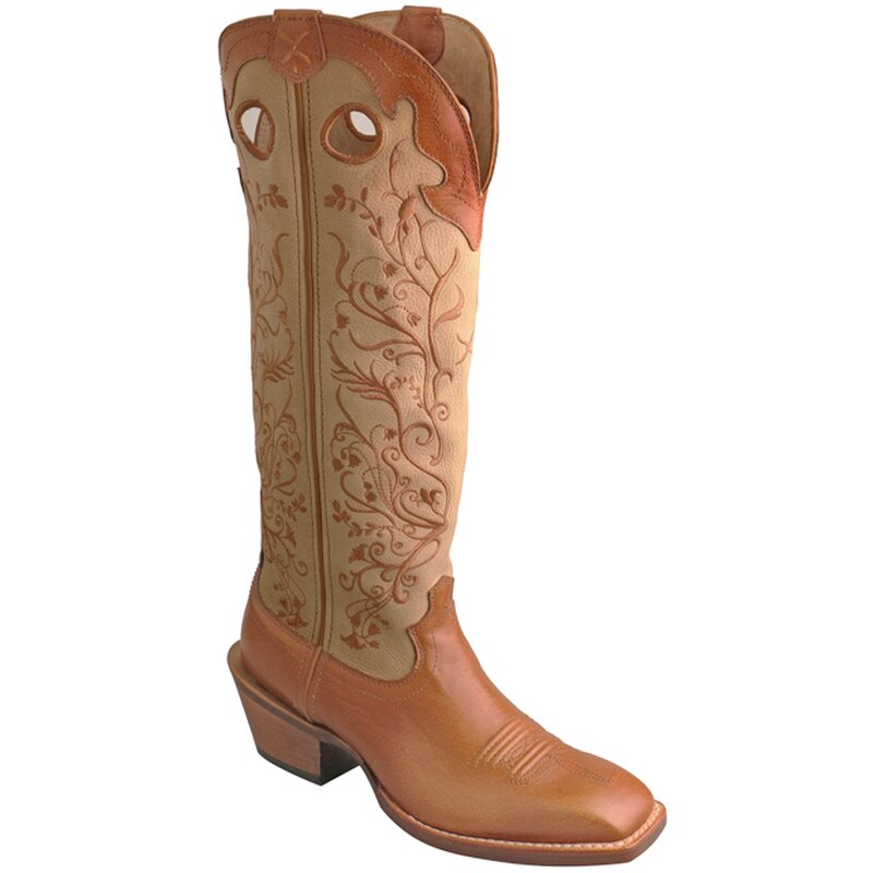 Tw X Buckaroo Hazel lady brown